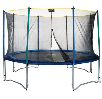 Pure-Fun-9012TS-12'-Trampoline-&-Enclosure-Set-View1