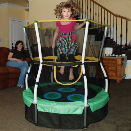 Skywalker-Trampolines-40-In.-Round-Lily-Pad-Adventure-Bouncer-with-Enclosure-View4