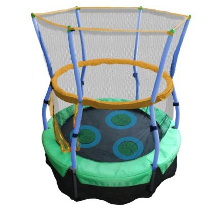Skywalker-Trampolines-40-In.-Round-Lily-Pad-Adventure-Bouncer-with-Enclosure-View5