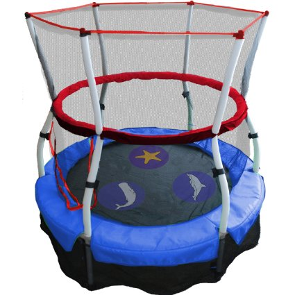 Skywalker-Trampolines-60-In.-Round-Seaside-Adventure-Bouncer-with-Enclosure-View3