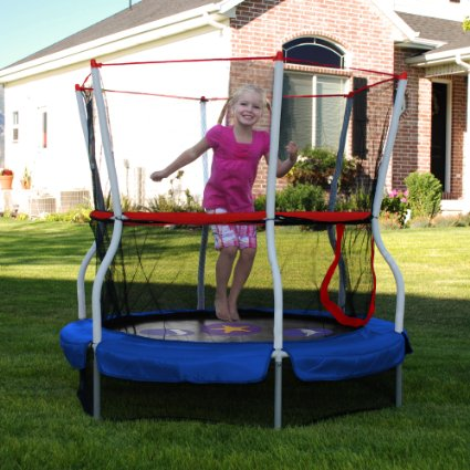 Skywalker-Trampolines-60-In.-Round-Seaside-Adventure-Bouncer-with-Enclosure-View5