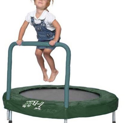 Bazoongi 48 Trampoline Bouncer w Safety Bar