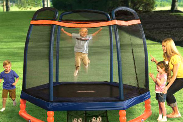 Safe and Fun Trampolines