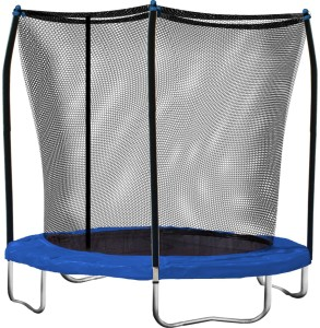 Skwalker 8' Trampoline w Safety Enclosure