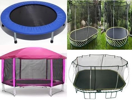 Different Types of Trampoline