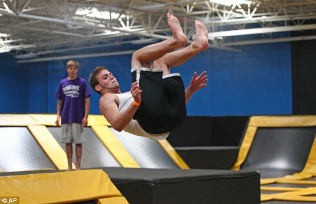 Growing Popularity Of Trampoline Parks Increases Risks