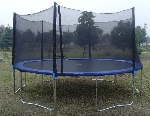 Exacme 15 Ft 6w Legs Quality Trampoline With Large
